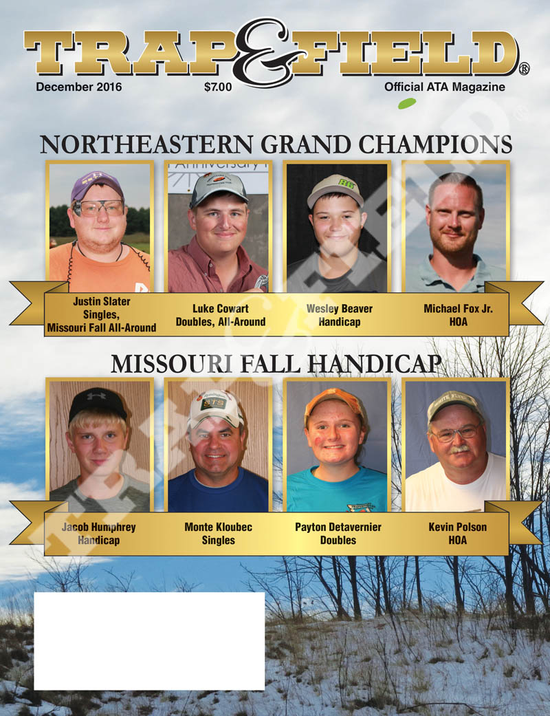 Trap and Field Magazine - December 2016 Issue