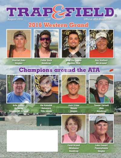 Trap and Field Magazine - August 2016 Issue