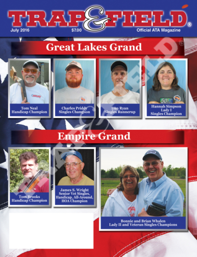 Trap and Field Magazine - July 2016 Issue