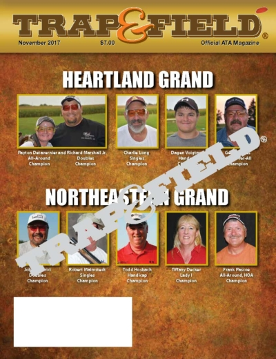 November 2017 Issue - Trap and Field MAgazine