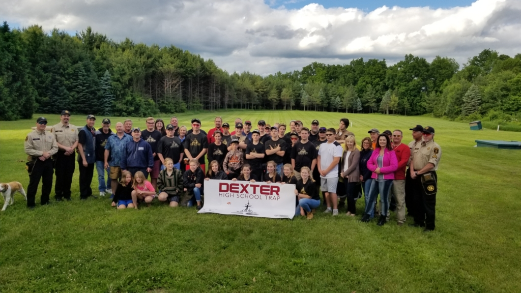 The Dexter High School trap team enjoyed the Shoot with a Sheriff event at the Ann Arbor Moose Lodge 1253 Sportman's League.