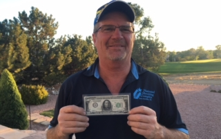 Mike Grady had the top high-over-all score at Vernal R&GC's $500 Bill Fall Handicap.