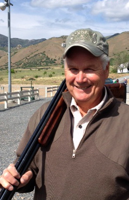 Steve Stewart earned a first-time punch to the back fence during the Western Zone Shoot.
